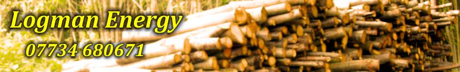 Logman Energy Seasoned Hardwood Logs For Woodburners Woodburning Stoves in Kent.